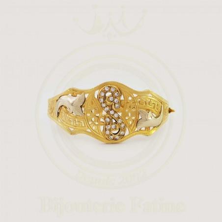 Bracelet moderne en or 18 carats