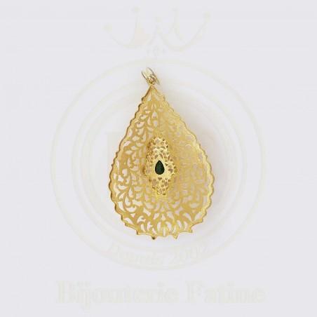 Chaîne Pendentif simple en or 18 carats