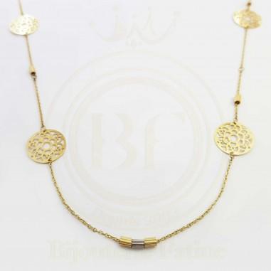 Sautoir magnifique en or 18 carats