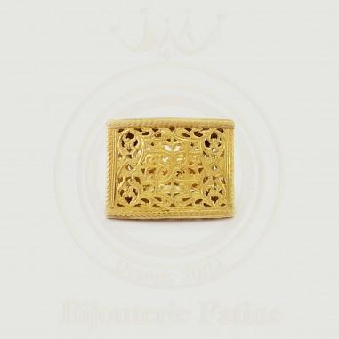 Bague originale en or 18 carats