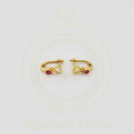 Boucle chiс et moderne en Or 18 carats