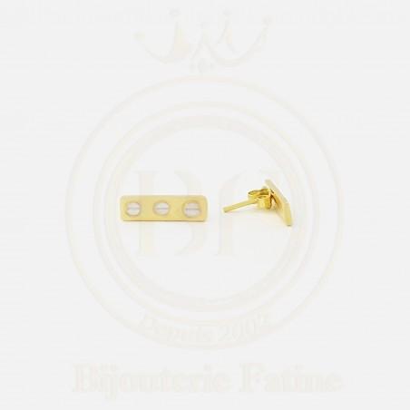 Boucles cartier trés chic  en or 18 carat