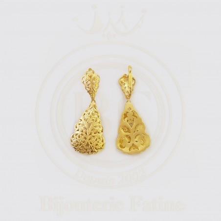 Boucles d'oreilles 623 trés chic en Or 18 carats