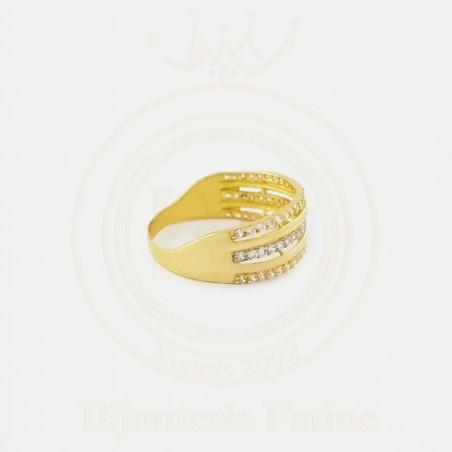 Alliance solitaire 268 avec un design très attirant en Or 18 carats