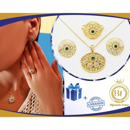 Ensemble magnifique en or 18 carats