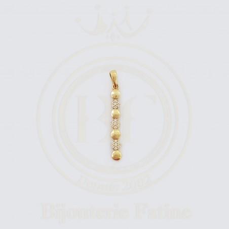 Pendentif très chic en or 18 carats