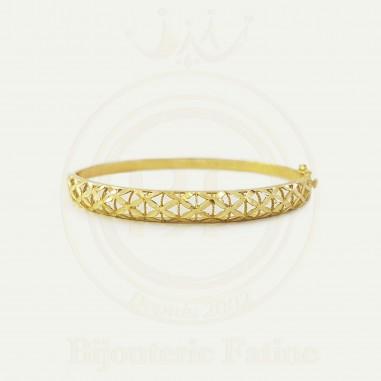 Braclets très chic en or 18 carats