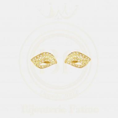 Boucles d'oreilles 332 en Or 18 carats