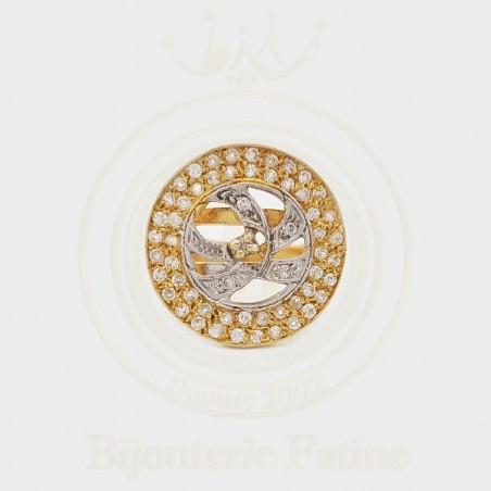 Bague 354 avec un design très attirant en Or 18 carats