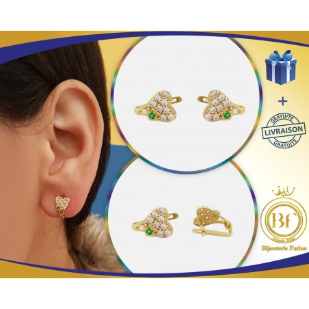 Boucles d'oreilles enfants 146 en Or 18 carats