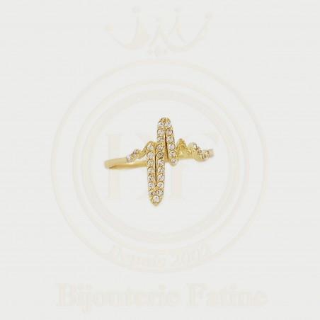 Bague  trés magnifique en or 18 carats