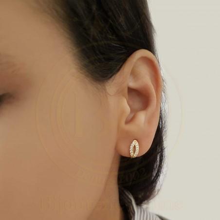 Boucles d'oreilles d'enfants 167 en Or 18 carats