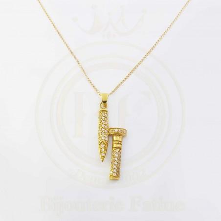 Chaîne Pendentif 160 très chic en or 18 carats