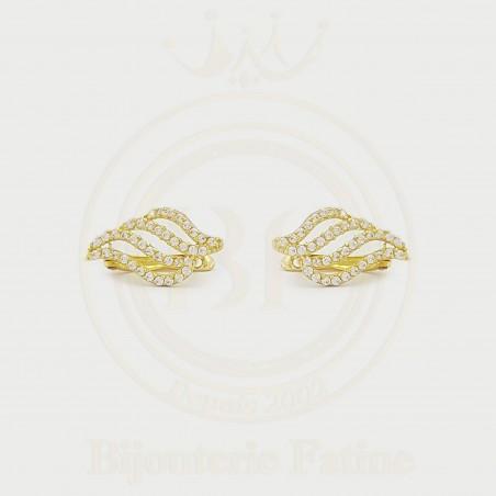 Boucles d'Oreilles très chic en or 18 carats