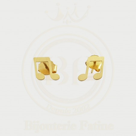 Boucles d'Oreilles Enfants magnifique en or 18 carats