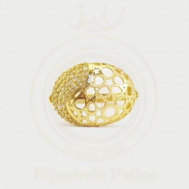 Bague très charmante en or 18 carats
