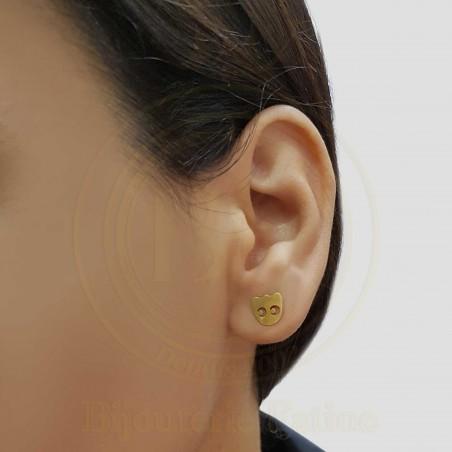 Boucles d'oreilles d'enfants 180 en Or 18 carats