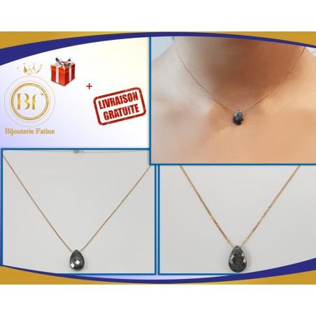 Chaîne pendentif louza or 18 carats