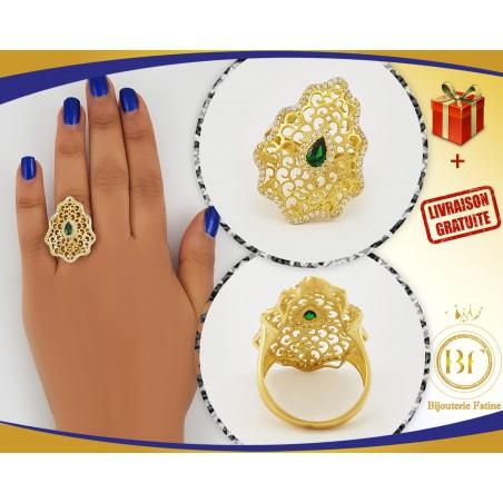 Bague 400 chic et très charmante en or 18 carats