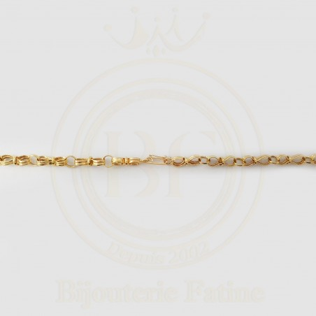 Chaîne Pendentif chic et très fascinante en or 18 carats